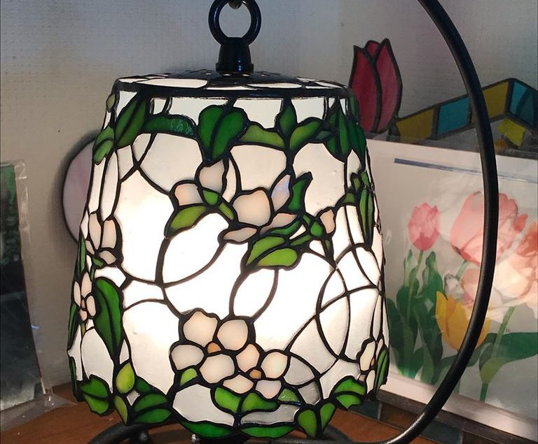 glass N.卓上ランプ